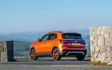 Volkswagen T-Cross 2019 review - static rear