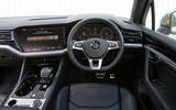 Volkswagen Touareg 2018 road test review dashboard