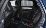 Volvo V90 T6 Recharge PHEV 2020 road test review - rear seats