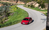 Volkswagen Golf GTI TCR 2019 road test review - cornering front