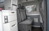 Volkswagen Grand California 2020 road test review - rear seats