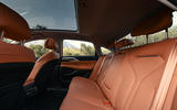 15 Xpeng P5 2021 first drive review rear seats