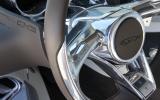 Jaguar C-X75 steering wheel