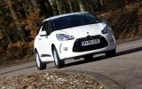 Citroen DS3 cornering