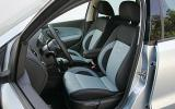 VW Polo front seats