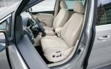 Volkswagen Sharan front seats