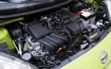 1.2-litre Nissan Micra petrol engine