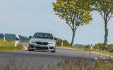 AC Schnitzer ACS5 Sport 2020 road test review - cornering front