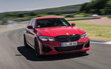 Alpina B3 2020 road test review - track front