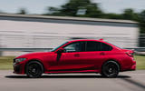 Alpina B3 2020 road test review - track side