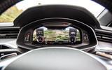 Audi A6 Avant 2018 road test review - digital instruments