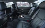 Audi A8 60 TFSIe 2020 road test review - legroom