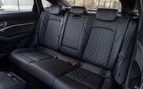 Audi E-tron Sportback 2020 road test review - rear seats