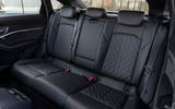 Audi E-tron Sportback 2020 road test review - rear seats