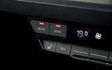 16 Audi Q4 E tron 2021 RT hero heating controls