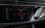 Audi RS Q8 2020 road test review - infotainment