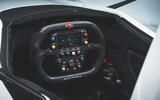 BAC Mono 2018 review - steering wheel