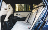BMW 3 Series Touring 2020 road test review - rear seats