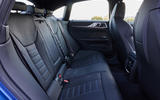 16 BMW i4 M50 2021 first drive review rear seats