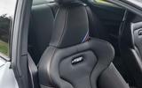 BMW M2 CS 2020 road test review - seat details