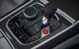 BMW M8 Competition convertible 2020 road test review - centre console
