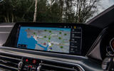 BMW X5 2018 road test review - satnav