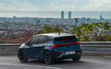 16 Cupra Born 2021 first drive review tracking rear