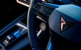 16 Cupra Formentor 2021 road test review steering wheel