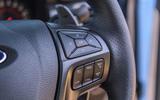 Ford Ranger Raptor 2019 road test review - steering wheel controls