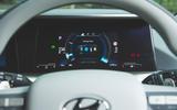Hyundai Nexo 2019 road test review - instruments