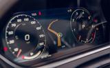 Jaguar F-Type 2020 road test review - instruments