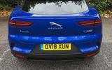 Jaguar I-Pace 2018 road test review rear end