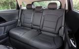 16 Kia Niro 2021 road test review rear seats