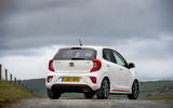 Kia Picanto review static rear