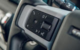 Land Rover Defender 2020 road test review - steering wheel controls