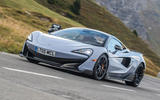 McLaren 600LT 2018 review - on the road front