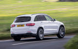 Mercedes-AMG GLC 43 road test review - cornering rear