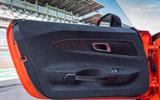 Mercedes-AMG GT Black Series road test review - door cards