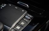 Mercedes-Benz A250e 2020 road test review - centre console