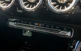 Mercedes-Benz CLA 2019 road test review - climate controls