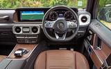 Mercedes-Benz G-Class 2019 road test review - dashboard