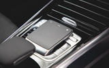 Mercedes-Benz GLB 2020 road test review - centre console