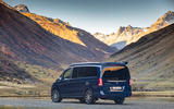 Mercedes-Benz Marco Polo 2019 road test review - static rear