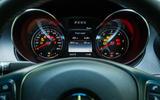 Mercedes-Benz X-Class road test review instrument cluster