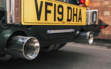 Morgan Plus Six 2019 road test review - exhausts