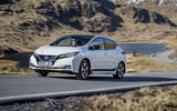 Nissan Leaf 2018 UK review on the road front