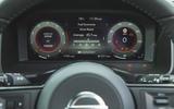 16 Nissan Qashqai 2021 RT instruments