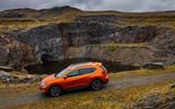 Nissan X-Trail road test review - static quarry