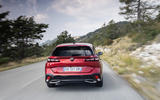 16 Peugeot 308 SW 2021 first drive on road rear