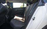 Peugeot 508 SW Hybrid 2020 road test review - rear seats